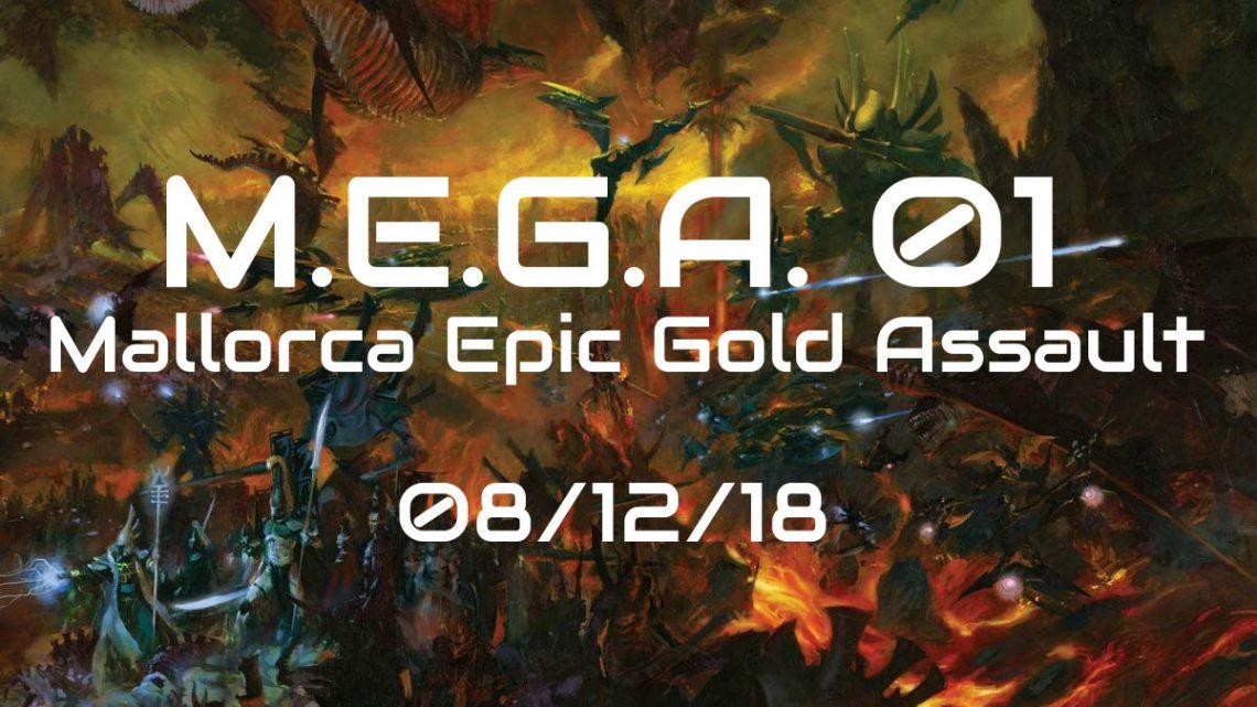 Mallorca Epic Gold Assault -1er torneo M.E.G.A.