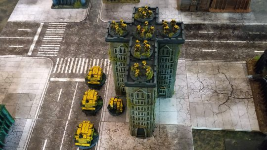 Imperial Fists I – WIP