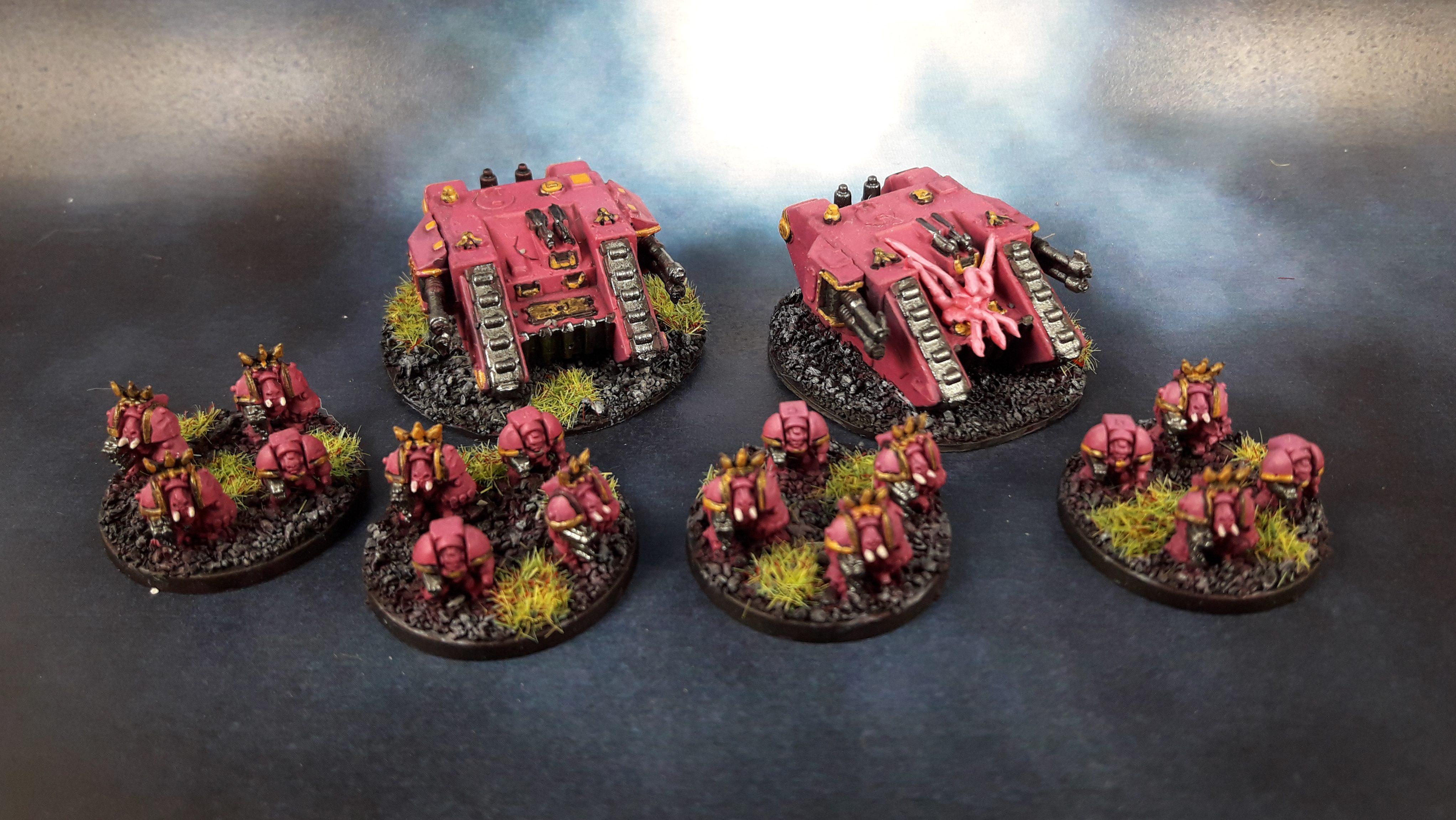 Land Raider Terminator Squad