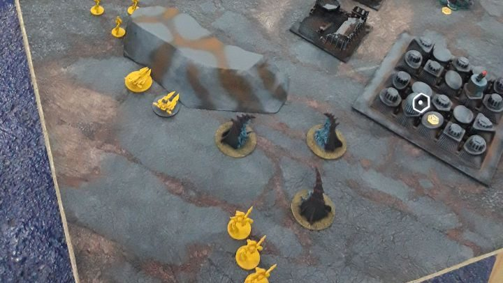 epic Imperial Fist vs Iyanden M.E.G.A 2
