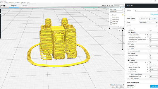 Impresión 3D de miniaturas II