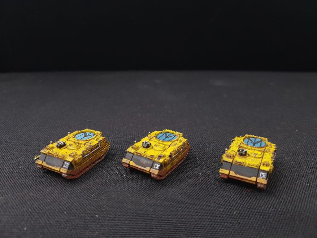 Rhino Transport 02 Epic Space Marine Imperial Fist Vanguard Miniatures
