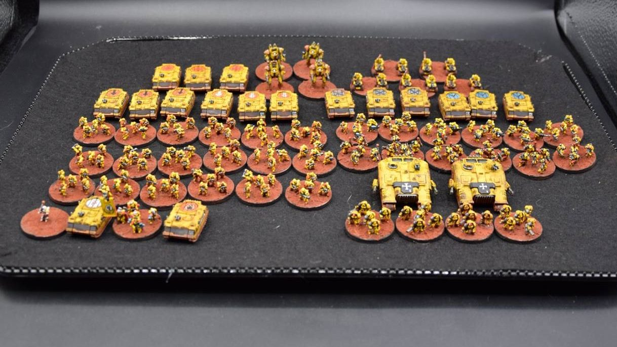 epic space marine Imperial fist vanguard M.E.G.A