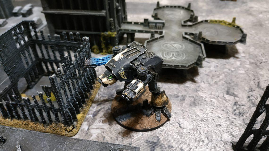 Warhound Legio Pallidus Mor
