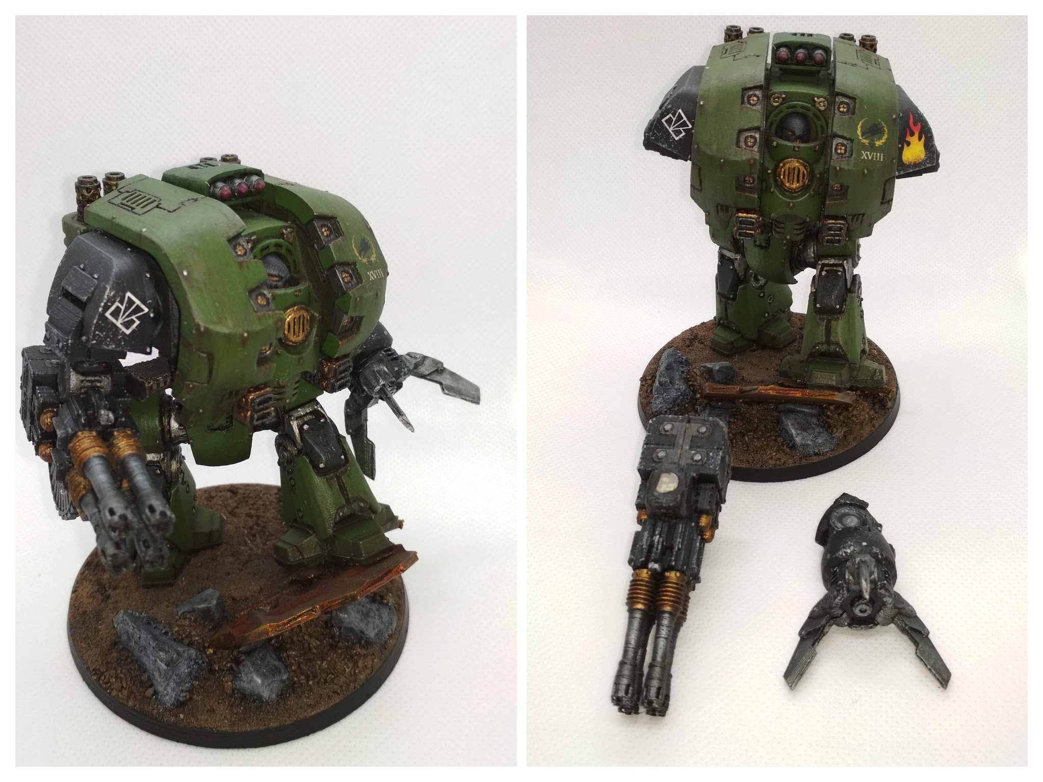 3D printed Leviathan Dreadnought