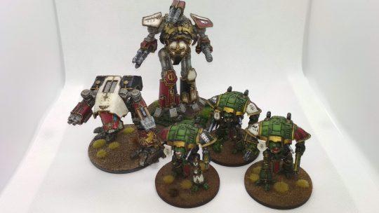 Imperial Knights para Adeptus Titanicus y Epic