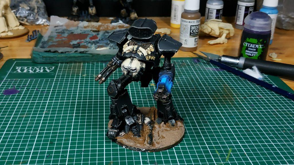 titan reaver legio pallidus mor cerastus knight malinax