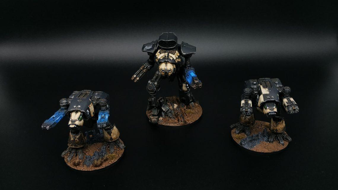 Titan Reaver Legio Pallidus Mor