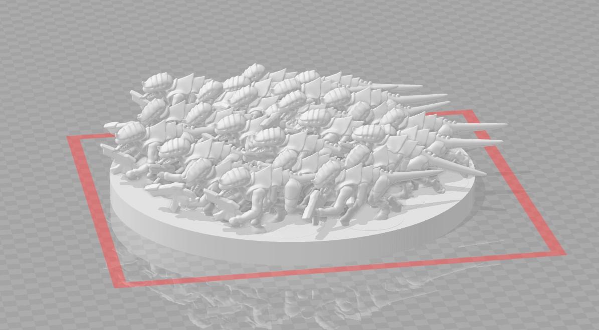 epic termagant infinite swarm 3d