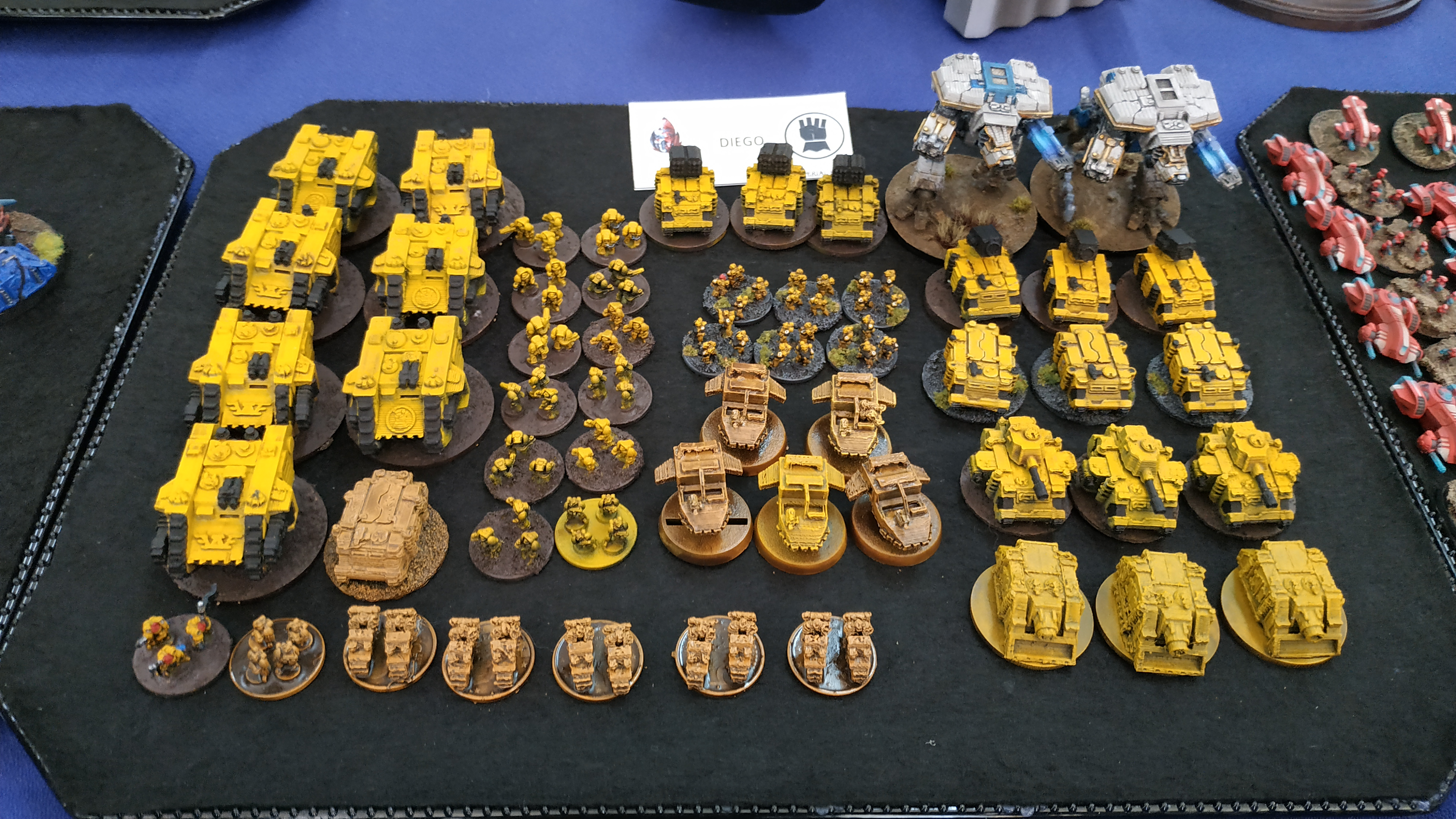 Mallorca Epic Gold Assault II imperial fist