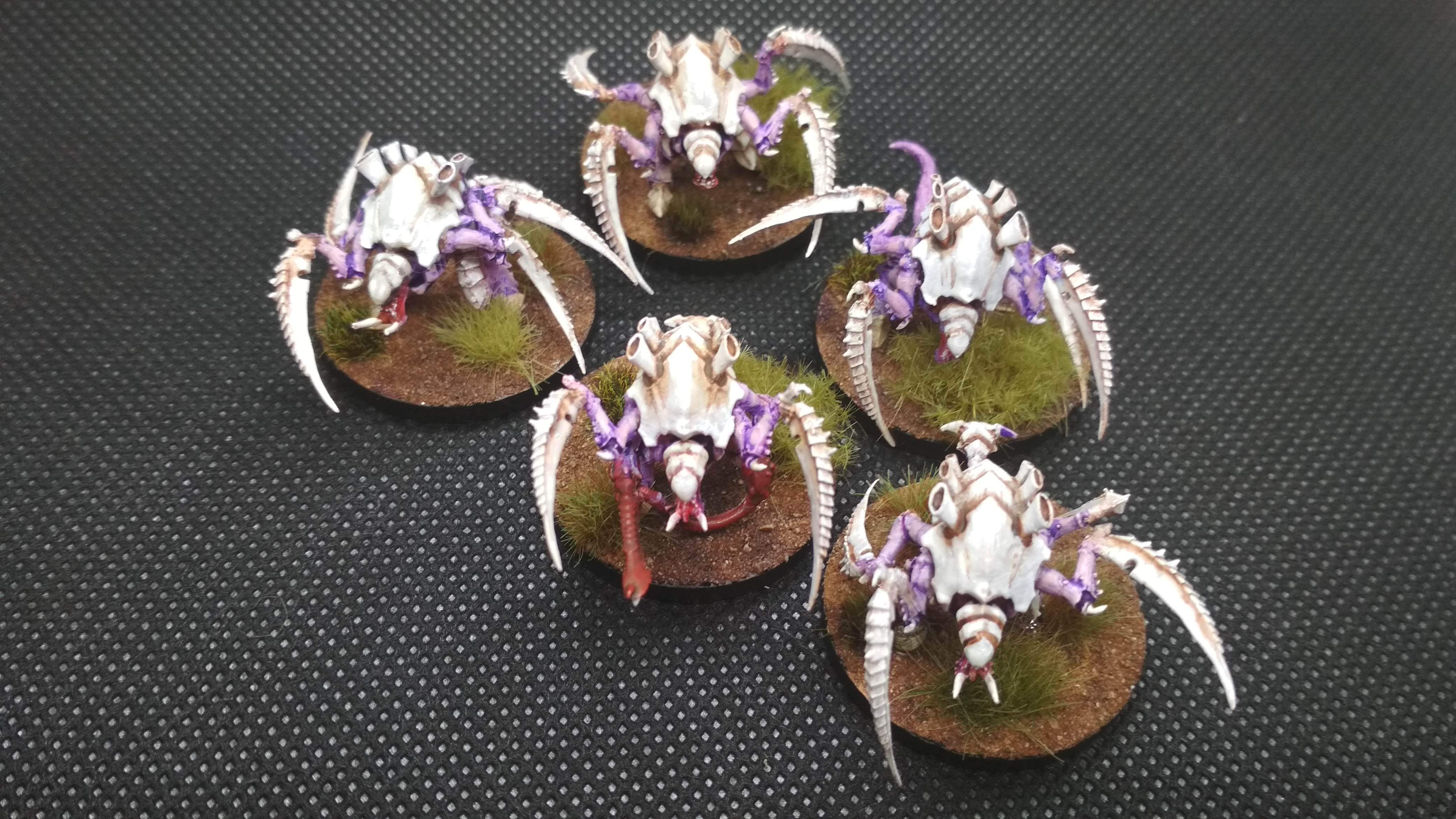 Adeptus titanicus carnifex swarm