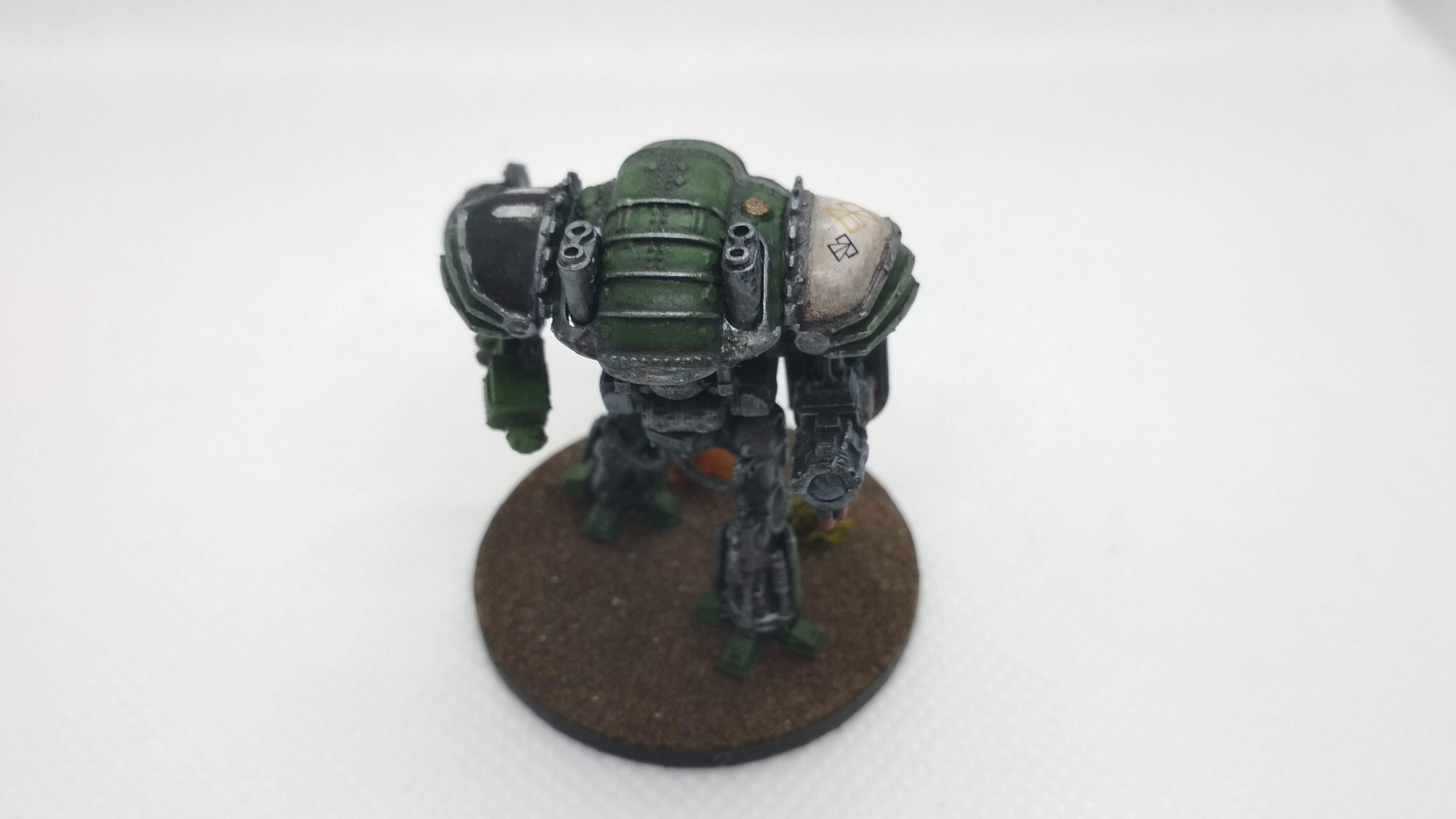 Knight magaera rear detail