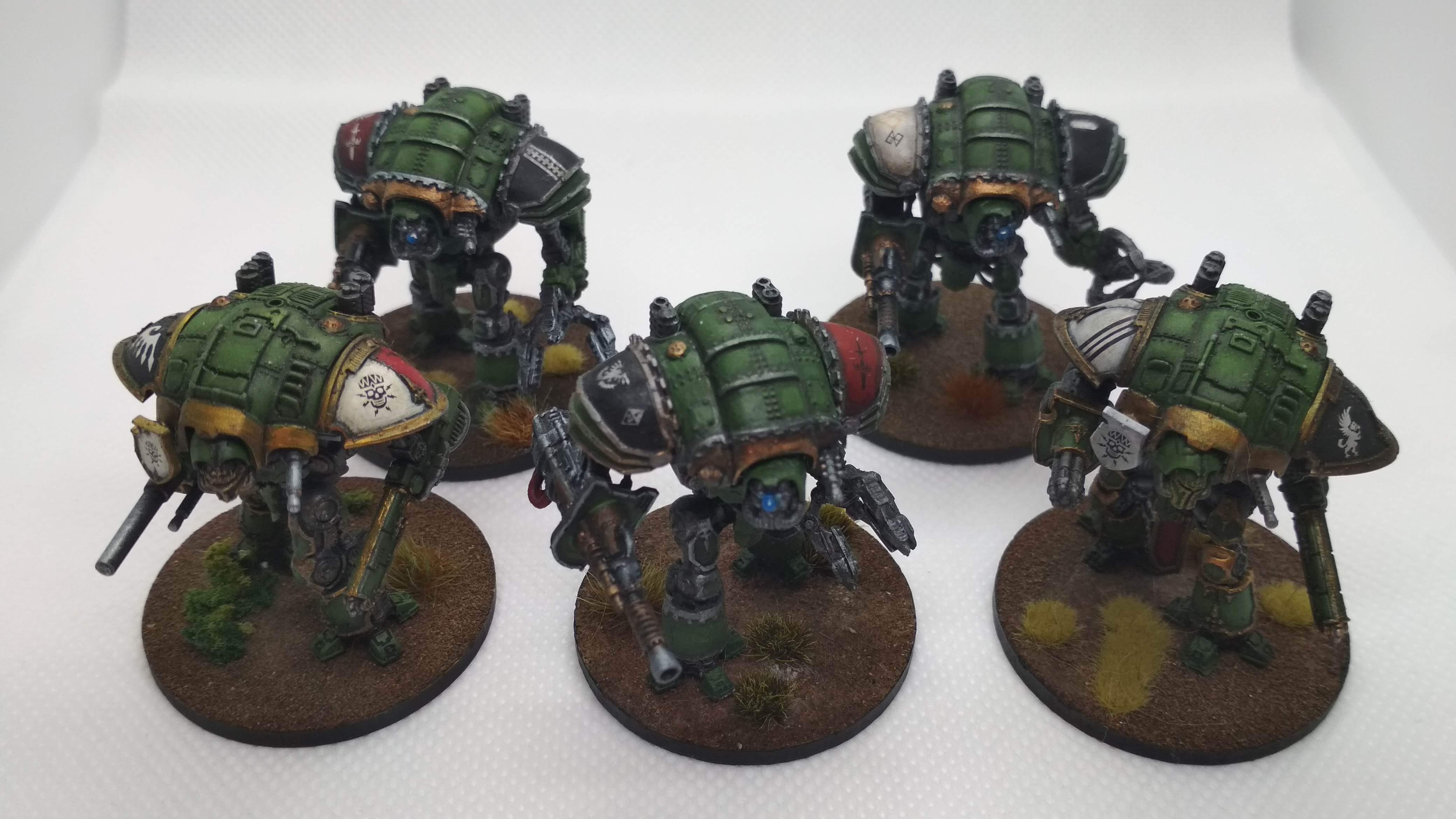 3d printed adeptus titanicus imperial knights