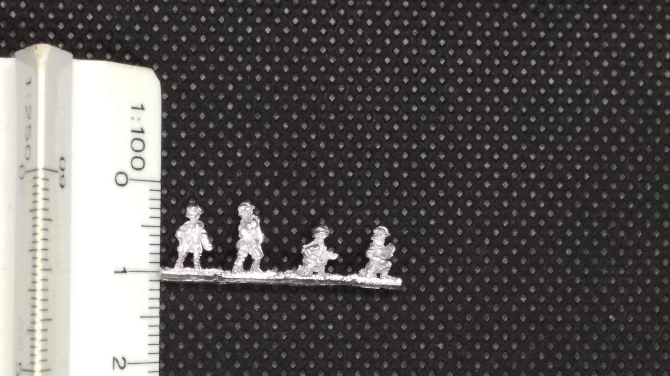 Baccus6mm miniatures size