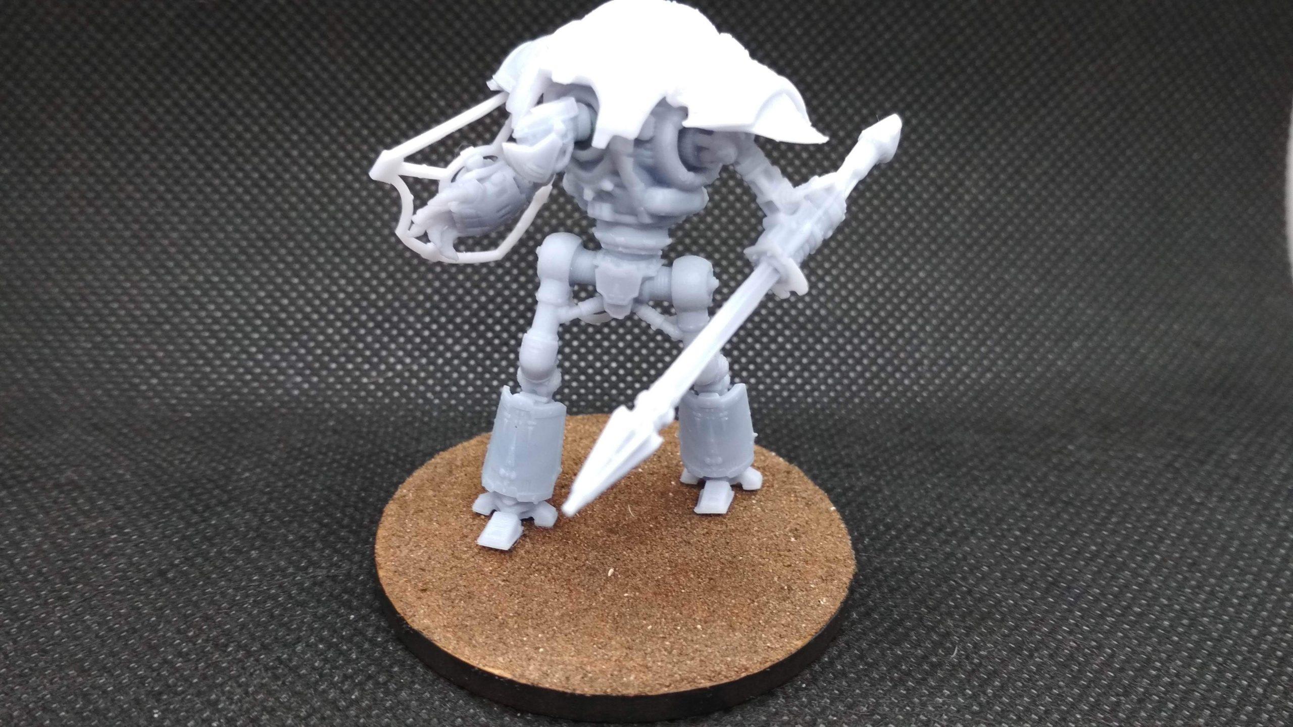 Cerastus impreso en 3D