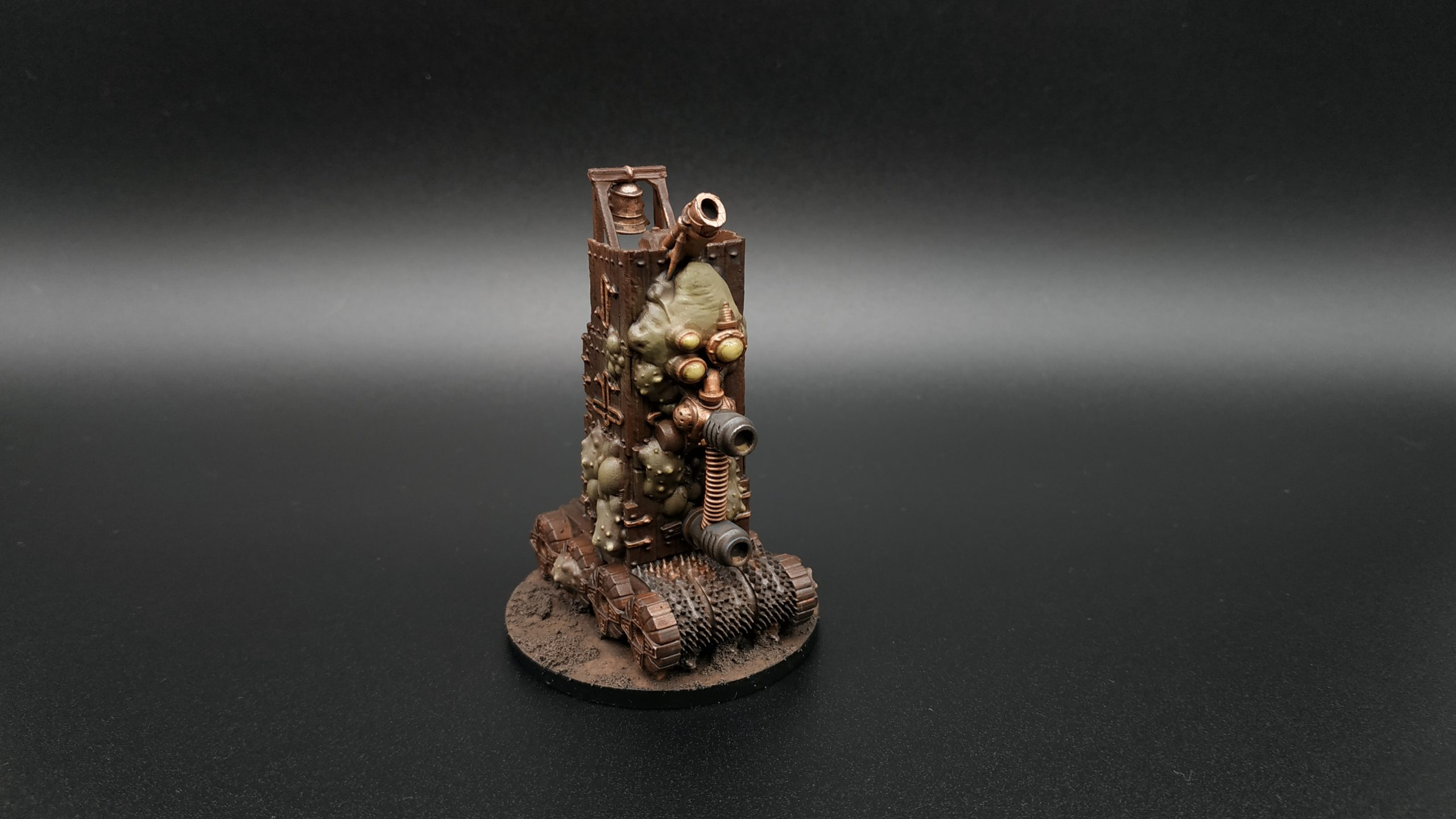 3d printed epic nurgle plague tower