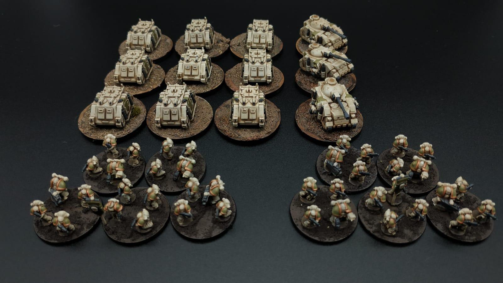 3D printed Epic Nurgle Death Guard Space Marines