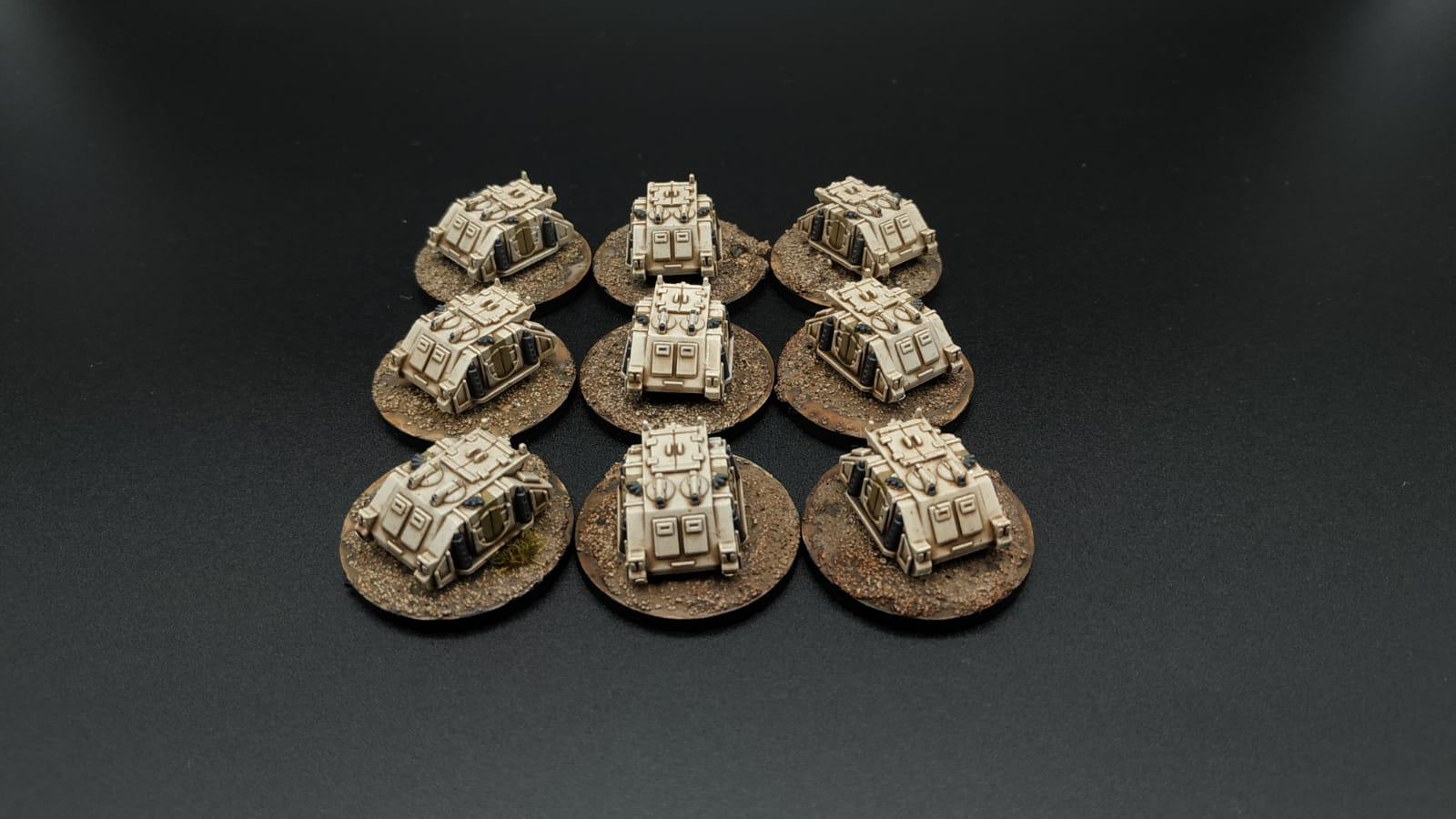 epic rhino death guard space marine