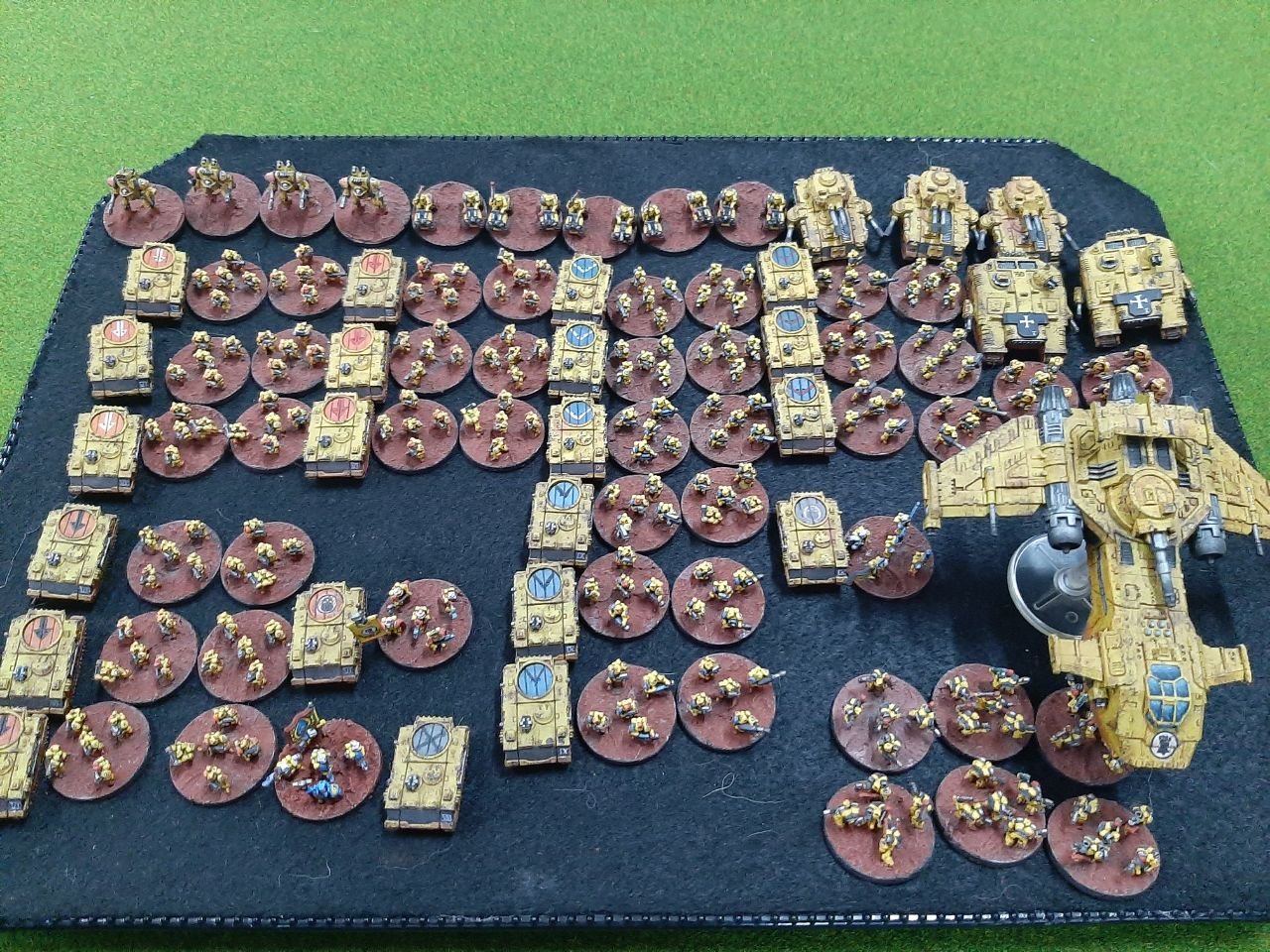 epic vanguard imperial fist space marines