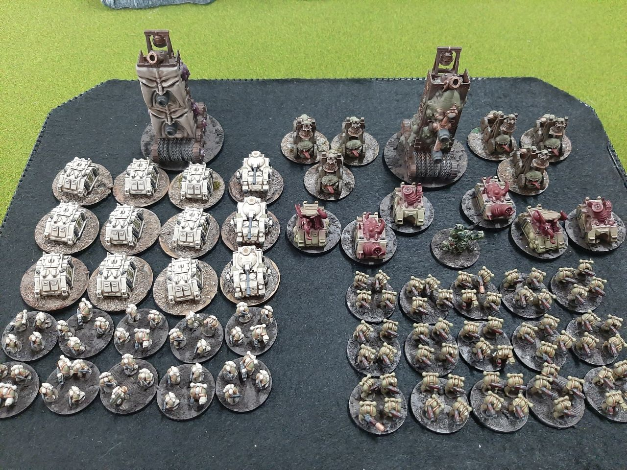 epic nurgle army death guard Mallorca Epic Gold Assault 03