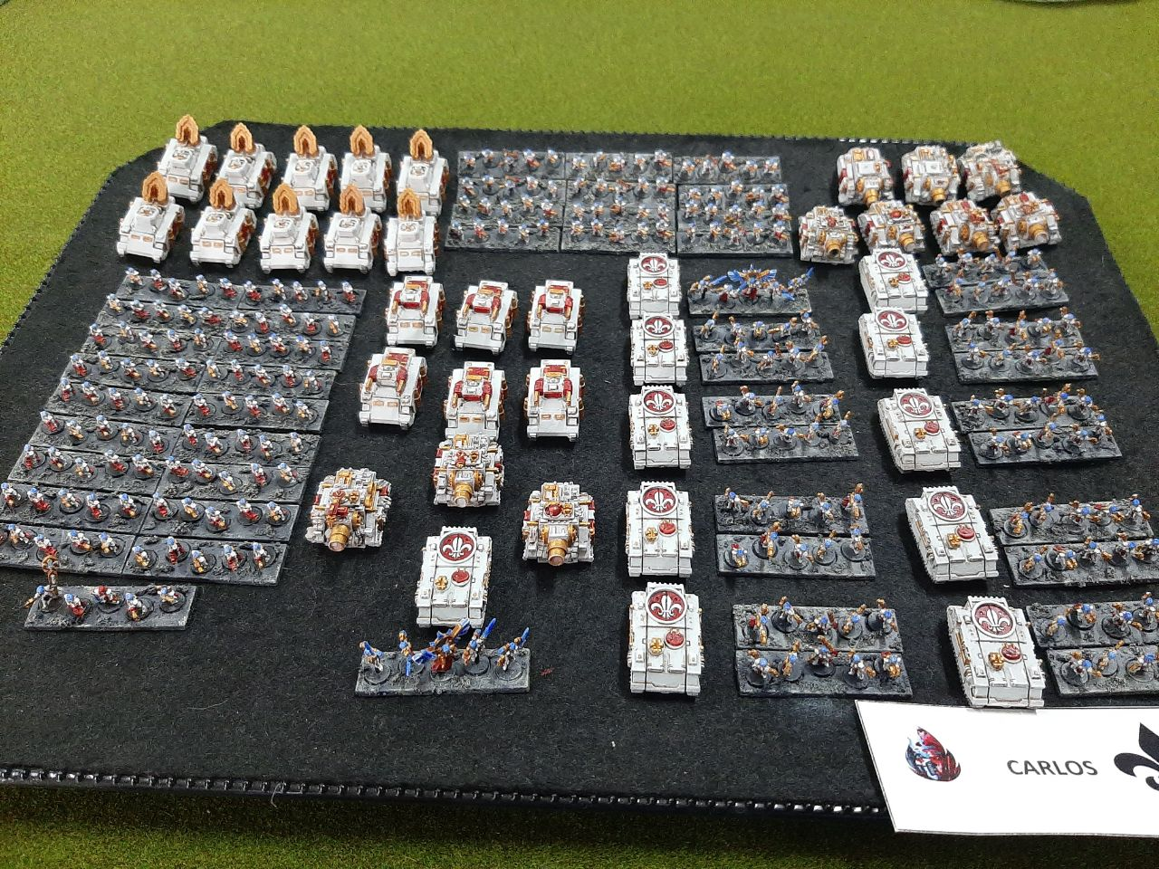 epic 40k adepta sororitas army Mallorca Epic Gold Assault 03