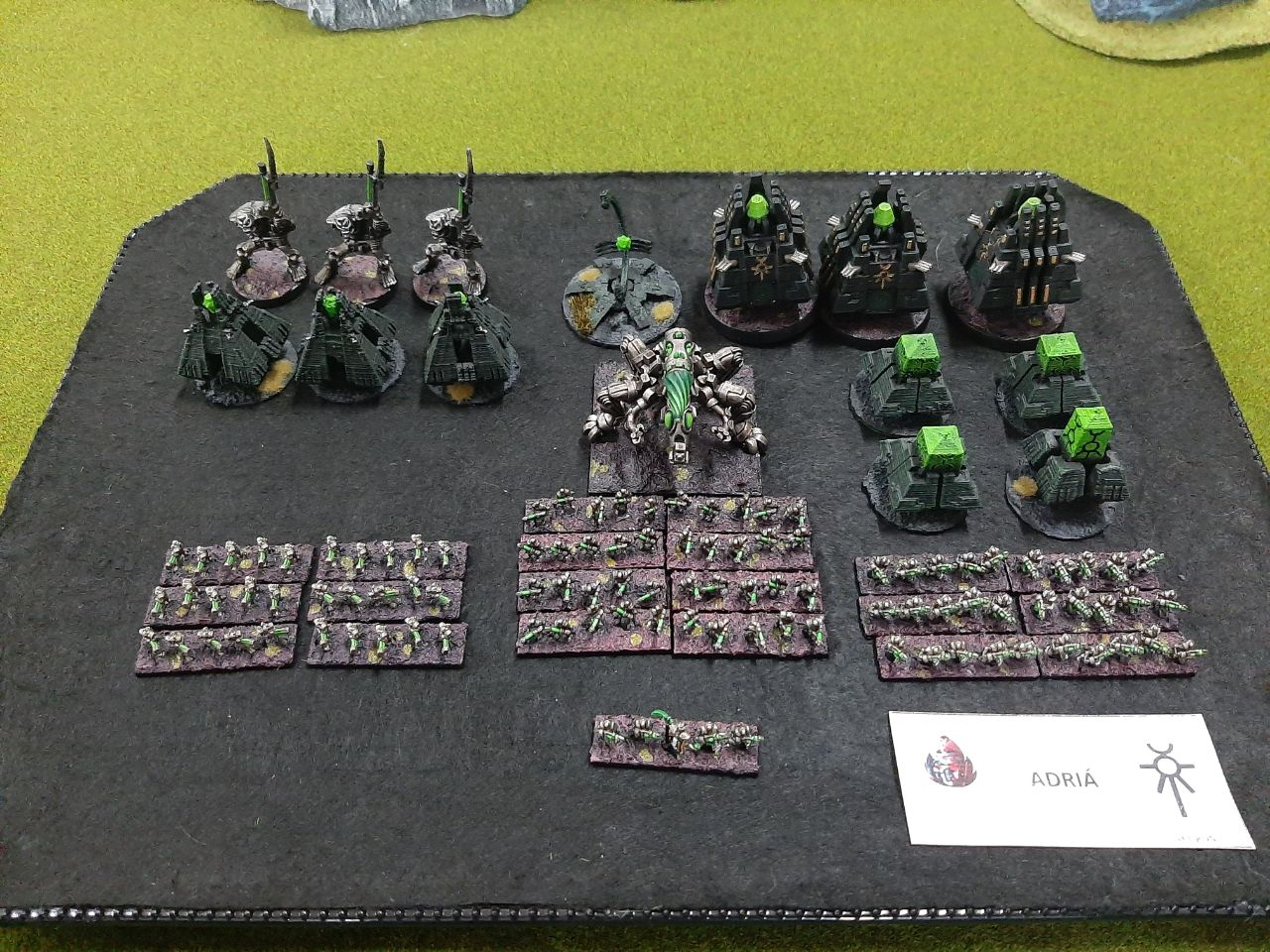 epic necron army Mallorca Epic Gold Assault 03