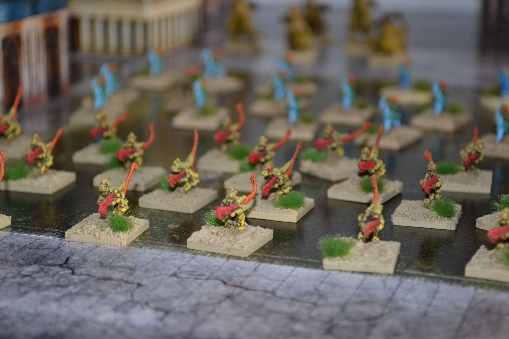 epic exodite eldar troops
