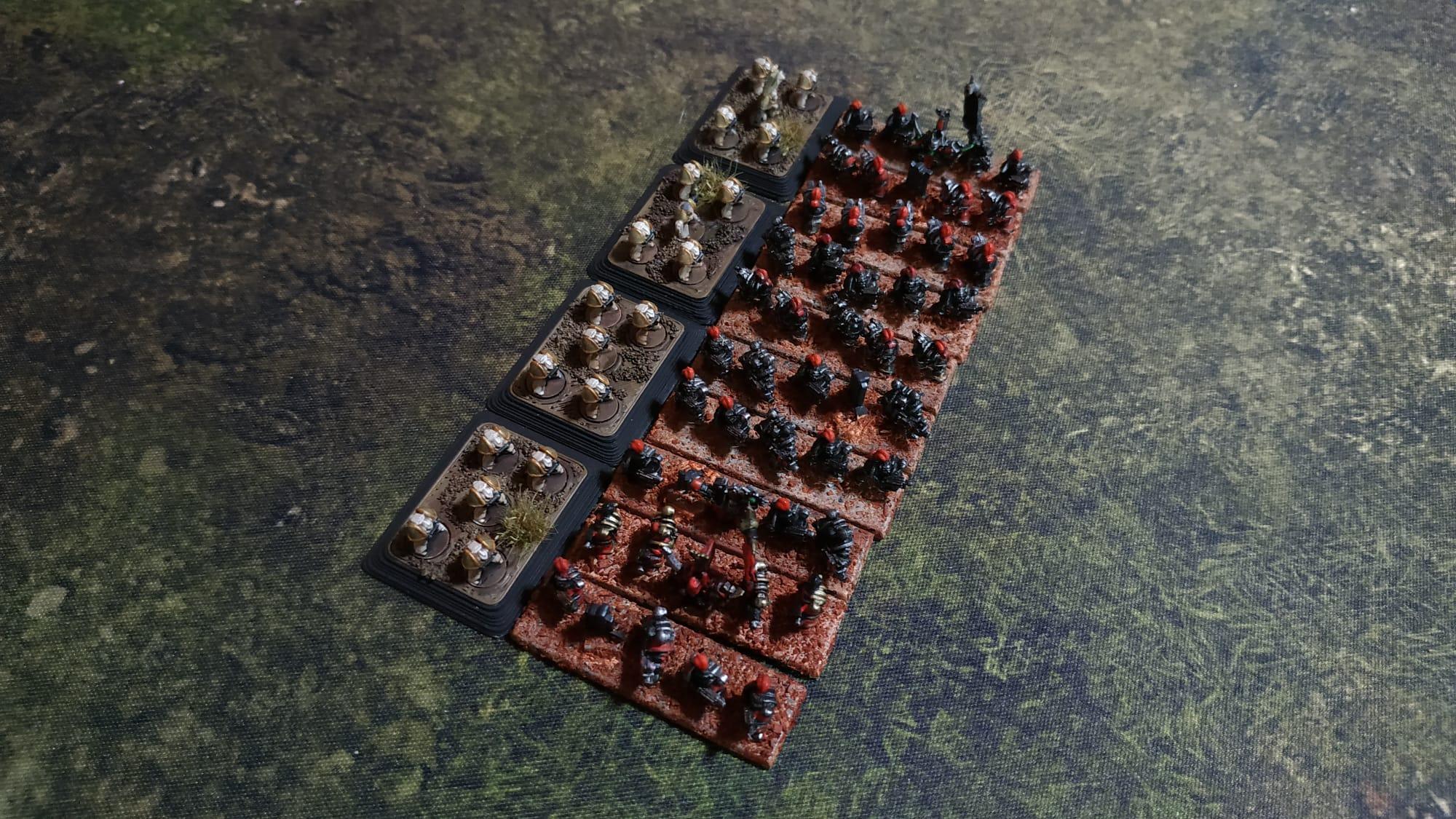 Baseado Epic Chaos infantry